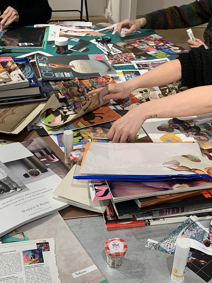 Digital Cut and Paste! Online Collage  Workshop image