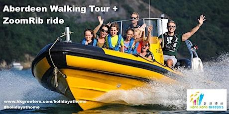 Aberdeen Walking Tour + ZoomRib ride tickets