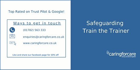 Safeguarding Train the Trainer - 2 day training tickets