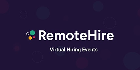 RemoteHire - Front End Developers (European Union) tickets