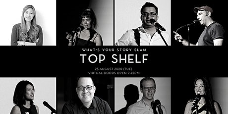 What's Your Story Slam : TOP SHELF tickets