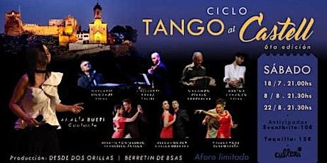 Espectáculo de TANGO con músicos y bailarines en vivo entradas