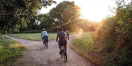 In bici nella natura biglietti