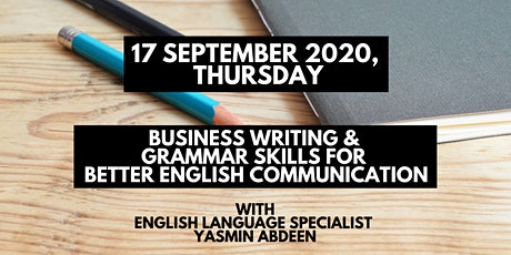 1-Day Business Writing and Grammar Skills for Better English Communication tickets