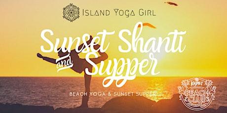 Sunset Shanti & Supper tickets