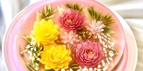 3D Jelly Art Floral Cake with Natural Colours Workshop tickets
