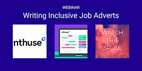 Writing Inclusive Job Adverts tickets