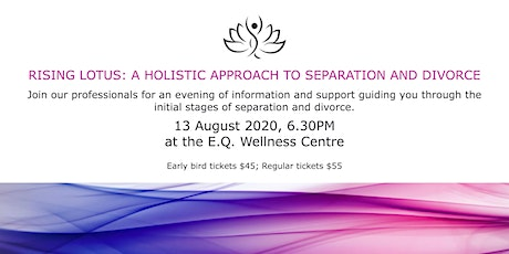 Rising Lotus: A holistic approach to separation and divorce tickets