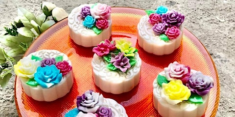 Floral Agar Agar Mooncake with Natural Colours Workshop tickets