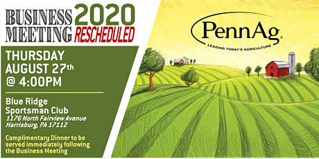 PennAg Annual Business Meeting - RESCHEDULED tickets