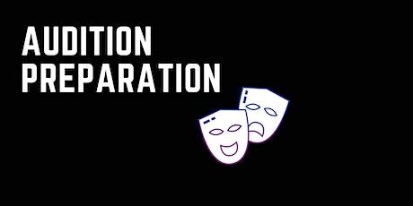 Audition Preparation (13  - 16 yrs) tickets