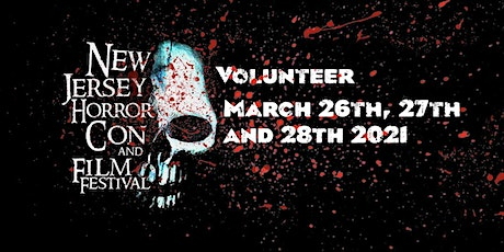 Volunteer Registration September 2021 - New Jersey Horror Con and Film Festival tickets