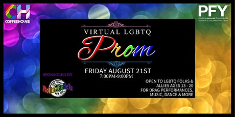 Virtual! LGBTQ Prom tickets