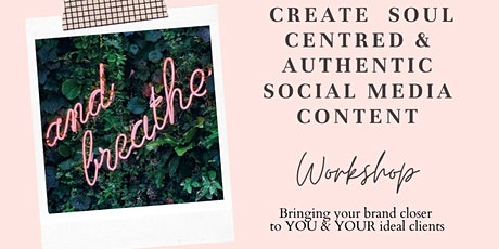 Coaching Workshop: Creating an authentic & soul centred voice online tickets