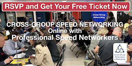 VIRTUAL Business Speed Networking EXPO August 18th to Develop New Business tickets