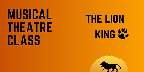 Musical Theatre Class: The Lion King (4-6 yrs) tickets