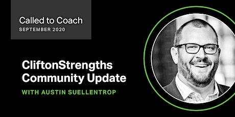 Called to Coach - CliftonStrengths Community Updates for September 2020 tickets