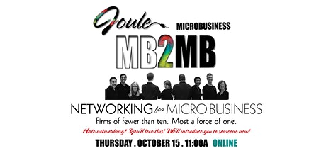 MB2MB . NETWORKING for MICROS tickets