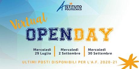 Virtual OPEN DAY - Istituto Politecnico - 30 Settembre 2020 biglietti