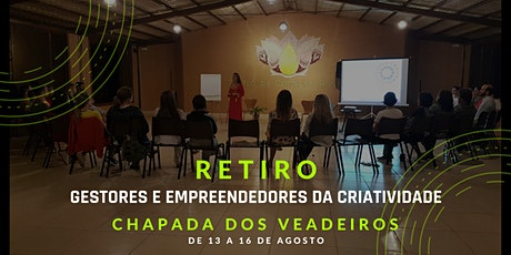 RETIRO PARA GESTORES E EMPREENDEDORES NA CHAPADA DOS VEADEIROS ingressos