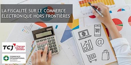 La fiscalité sur le commerce électronique hors frontières billets