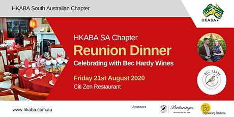 HKABA SA - Reunion Dinner - celebrating with Bec Hardy Wines tickets
