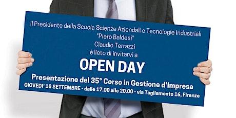 Open Day: presentazione del 35° Corso in Gestione d'Impresa biglietti