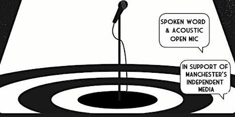 Meteoric Metres: Spoken Word & Acoustic Open Mic Night tickets