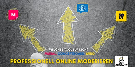 GROOVIZ® ACADEMY Profi online Moderation: Tool-Wegweiser in 111 Min. Tickets
