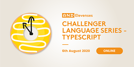 AND Elevenses: Challenger Language Series - TypeScript tickets