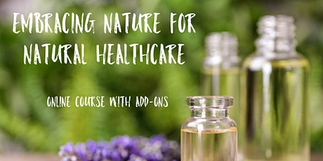 FREE OnLine 4Wk Essential Oils Course with Add-Ons tickets