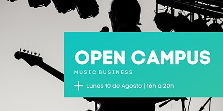 OPEN CAMPUS | Music Business entradas