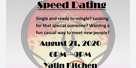 HOFC Speed Dating 50+ @ Yatin's Kitchen Gentlemen tickets
