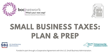 Small Business Taxes: Plan & Prep tickets