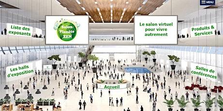Séance d'informations concernant le salon Planète Zen, édition en ligne billets