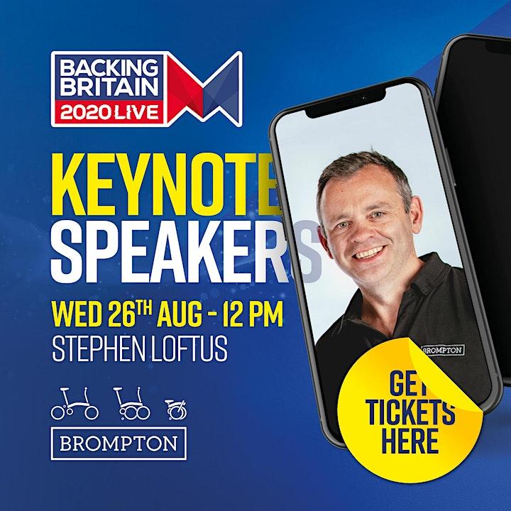 Backing Britain Live 2020 image
