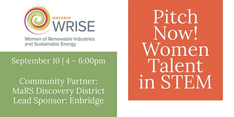 Pitch Now! Women Talent in STEM tickets
