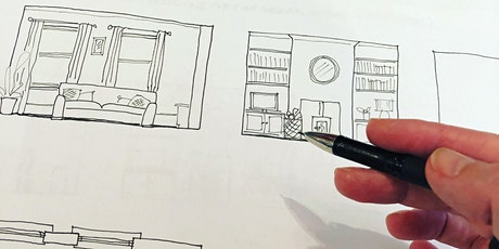 Designer's Table Online: Draw your Living Room tickets