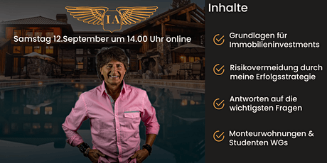 Webinar mit Jürgen D. Rausch Tickets