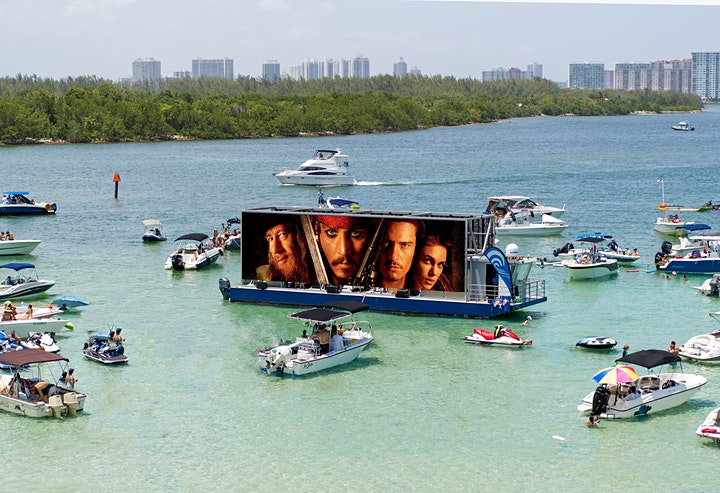 Ballyhoo Media Presents: Boat-in Movies - Pirates of the Caribbean image