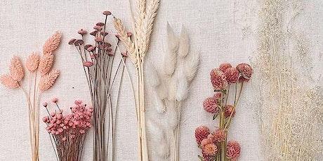 Dried Floral Workshop @ Brooke +  Bel tickets
