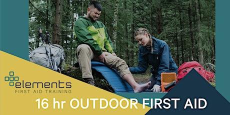 Outdoor First Aid (16 hr) tickets