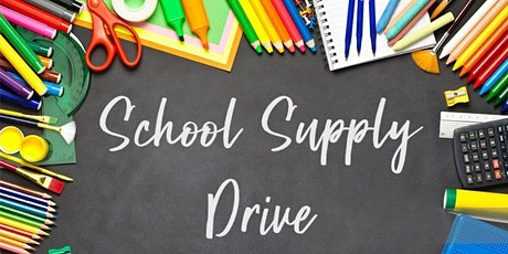 Drive-Thru School Supply Drive/Giveaway: Free Backpacks, School Supplies tickets