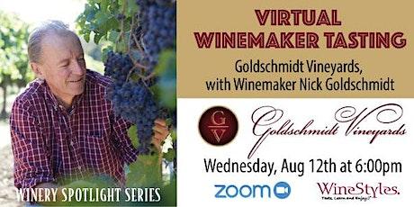 Goldschmidt Virtual Winemaker Tasting Event tickets