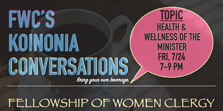 Koinonia Conversations tickets
