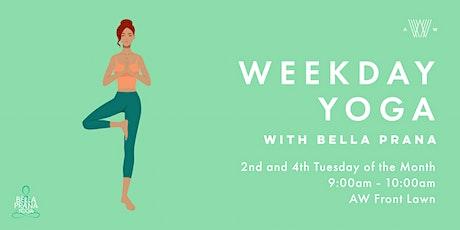 Weekday Yoga - August 11 tickets