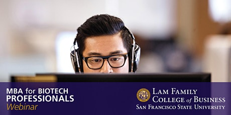 MBA Information Session for Biotech Professionals - Webinar tickets