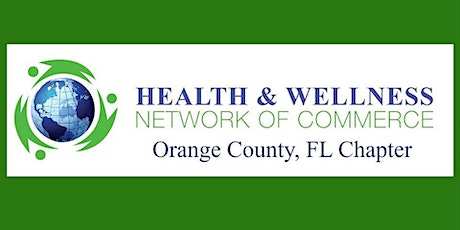 Health and Wellness Network of Commerce VIRTUAL Networking tickets