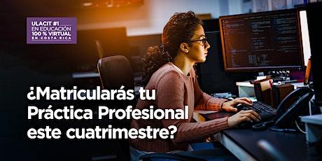 ¿Matricularás tu Práctica Profesional este cuatrimestre? entradas