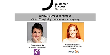 Digital Success Breakfast: CX and CS exploring customer journey mapping tickets